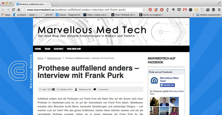Interview mit Marvellous Med Tech