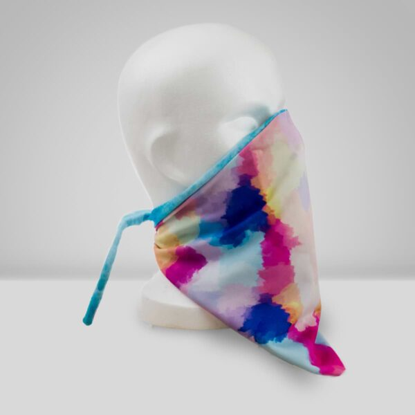 Orthopädische Gesichtsmaske Filter Aquarell