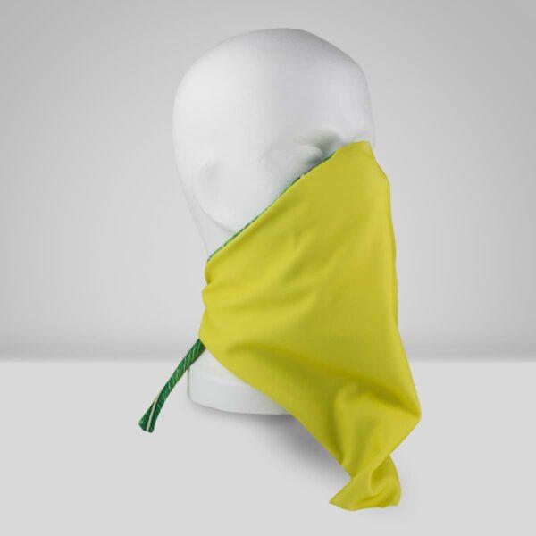 Orthopädische Gesichtsmaske Filter einfarbig gelb neutral