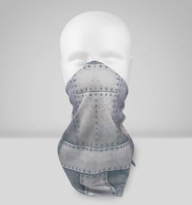 Orthopädische Gesichtsmaske Filter Farbwand Metall Design