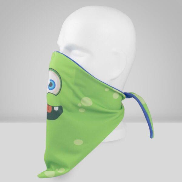 Orthopädische Gesichtsmaske Filter Grünes Monster