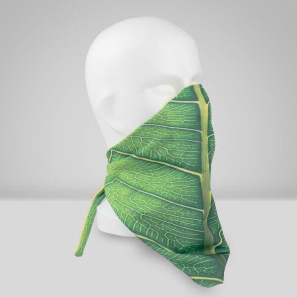 Orthopädische Gesichtsmaske Filter Blattdesign